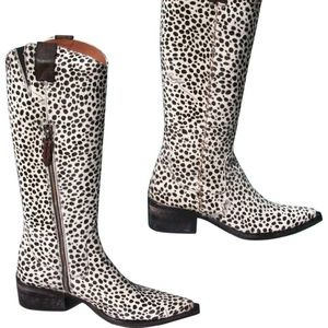 Donald Pliner Western Couture Boot New Chitta Hair